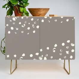 Dappled Hide in Taupe Credenza