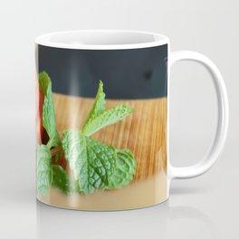 Tomato & Mint Closeup Coffee Mug