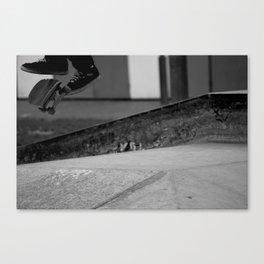 Skatin' Feet Canvas Print
