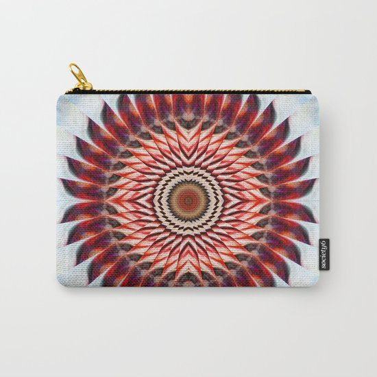 Windmill mandala Carry-All Pouch