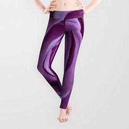Purple Rose-3 Leggings