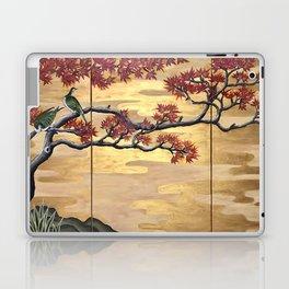 Japanese Fall Leaves Laptop & iPad Skin