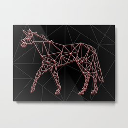 Wired Unicorn V02 Metal Print