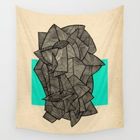 disco Wall Tapestries featuring - sleeping disco - by Magdalla Del Fresto