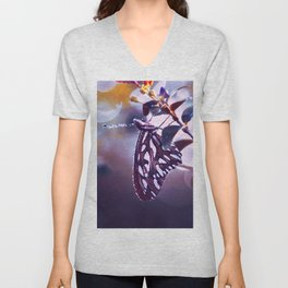 Silver Wings Unisex V-Neck