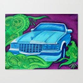 First Car Canvas Print