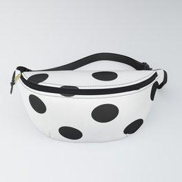 Polkadot (Black & White Pattern) Fanny Pack