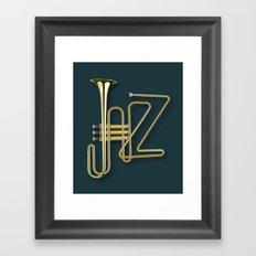 Virtuous Jazz Framed Art Print