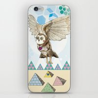journey iPhone & iPod Skins featuring Journey by Jo Cheung Illustration