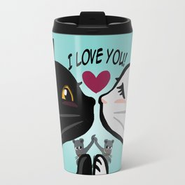 Love you cats Travel Mug