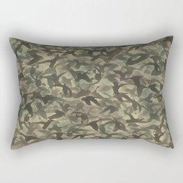 Duck hunt camouflage Rectangular Pillow