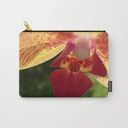 Yellow Orchid Flower Blossom from Mexico Carry-All Pouch