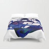 celestial Duvet Covers featuring Celestial by Stevyn Llewellyn