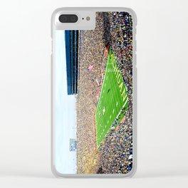 Michigan Stadium Clear iPhone Case
