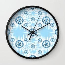 Snowflakes Wall Clock