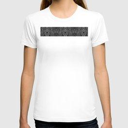 Shades of grey glasslite brick T-shirt
