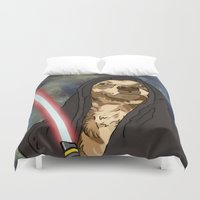 sith Duvet Covers featuring Sith Bowser [FANDOG] by Mars Attacks Design