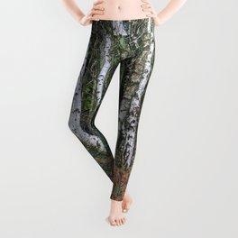Silver Woodland Leggings
