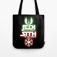 jedi Tote Bags featuring Jedi by Liquidsugar