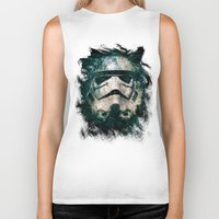 trooper Biker Tanks featuring Trooper by Sirenphotos