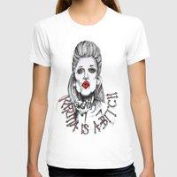 karma T-shirts featuring Karma by Samantha J Creedon