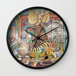 The Innocent Tiger Wall Clock