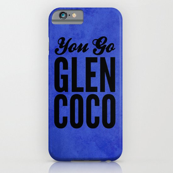 Glen Coco Blue iPhone & iPod Case