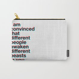 I Am Convinced Carry-All Pouch