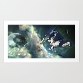 Desolate Art Print