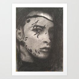 The Veil Art Print