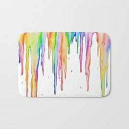 Colorful Icicles Bath Mat