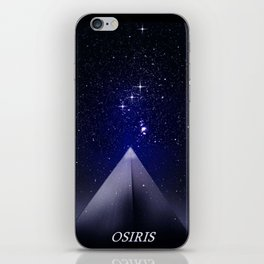 When the stars were gods. iPhone Skin