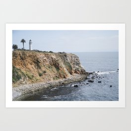 Point Vicente Lighthouse in Spring Art Print