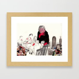 Picnic at Walpurgisnacht Framed Art Print