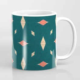 Playful Modern Geometry Background Coffee Mug