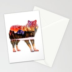 Pines of Wolf Stationery Cards