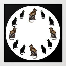 CAT TIME Canvas Print