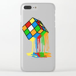 Love Brick games? Fan of Rubrik's Cube? Found the perfect tee for you! Makes a nice gift too! Clear iPhone Case