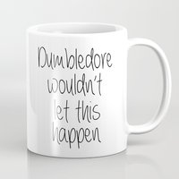 dumbledore Mugs featuring Dumbledore by bitobots