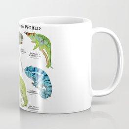 Chameleons of the World Coffee Mug