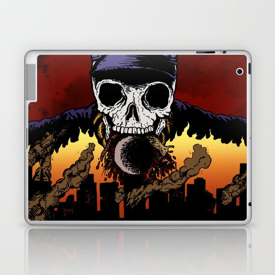 """Hip Hop Horror"" by Cap Blackard Laptop & iPad Skin"