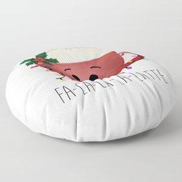Fa-la-la-la-latte Floor Pillow