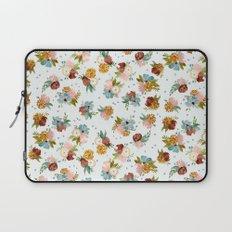 PASTEL FLORALS Laptop Sleeve