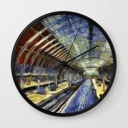 Paddington Railway Station Art Wall Clock
