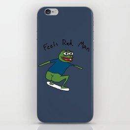 Pepe SB (rough) iPhone Skin