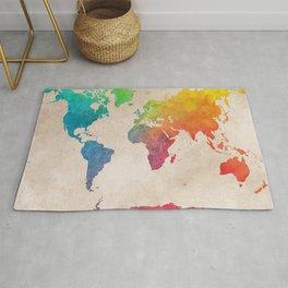 world map 21 #map #maps #world Rug