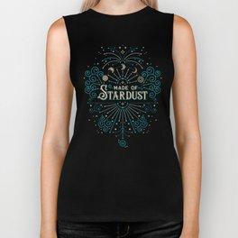 Made of Stardust – Blue & Black Palette Biker Tank