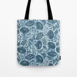 Arabella - Washed Indigo Tote Bag