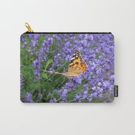 Butterfly Gliding Away Carry-All Pouch