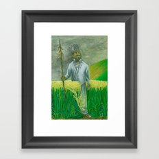 Guard Framed Art Print